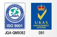 ISO9001(JQA-QM9082)UKAS(091-A)